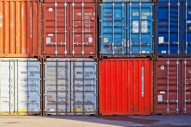containers mudanza maritima